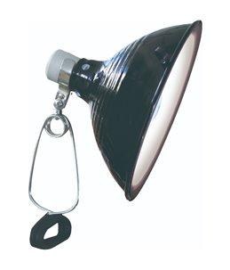 Klemlamp porselein max. 150w