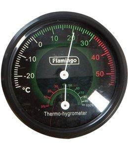 Terr. thermo/hygrometer analoog