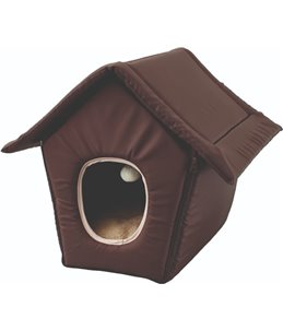 Cathome opvouwb cosy cottage bruin