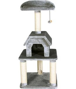 Krabpaal bellavista grijs 56x56x128