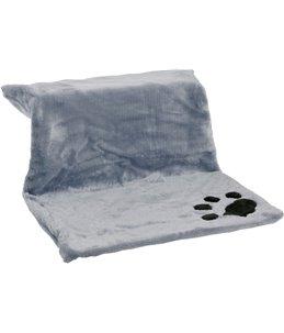 Kitty siesta verwarmingsbed grijs 46x30x23cm