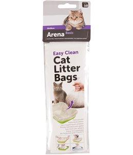 Kattenbakzakken 10 stuks in zakje