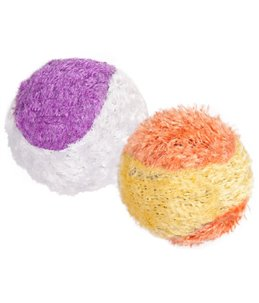 Ps ball plush tennis 4,5 cm - koker