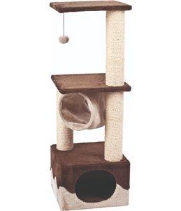 Krabpaal kangri 5 bruin/beige 35x35x102cm