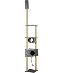 Krabpaal everest grijs 38x38x265cm