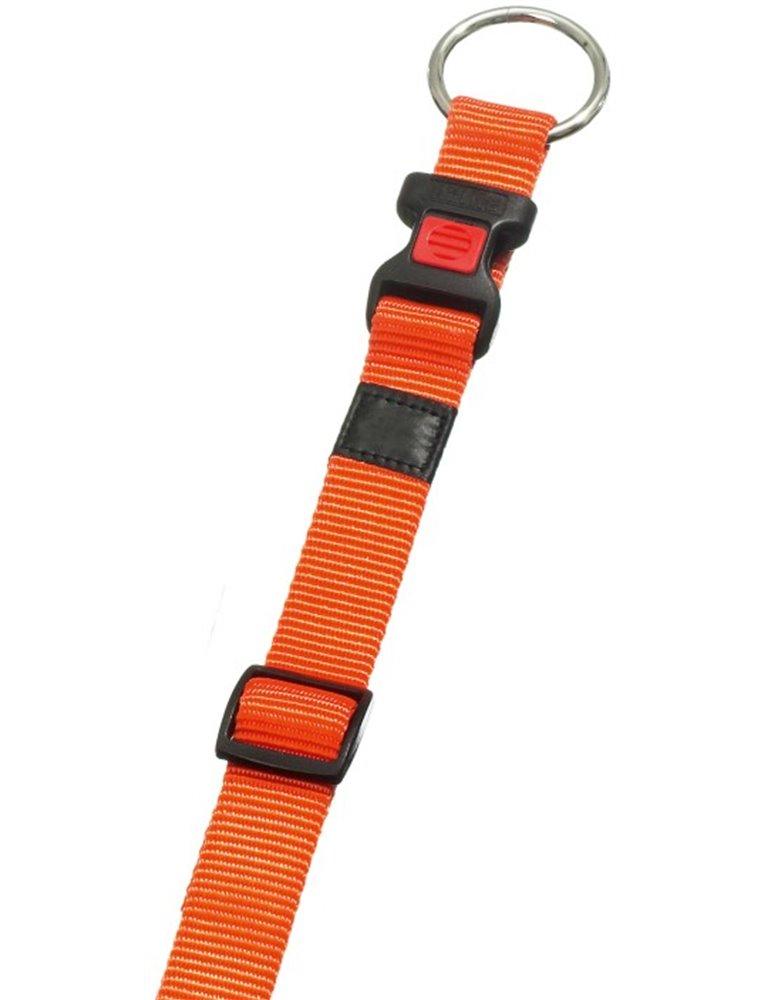 Halsb. asp oranje 45-65cm 25mm