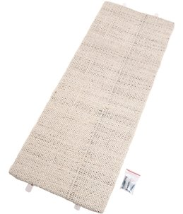 Hoekkrabplank sisal beige 28x52