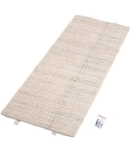 Hoekkrabplank sisal beige 56x100