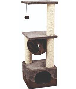 Krabpaal kangri 5 grijs/bruin 35x35x102cm