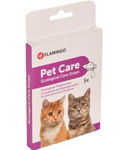 Ecolog. verzorgingsdruppels kat