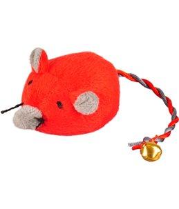 Ps jerry muis met bel rood