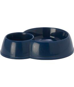 Eetpot kat duplex mara blauw-170+ 450ml