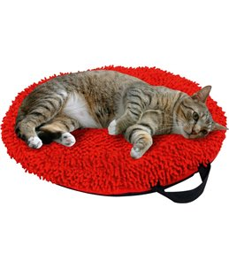 Kussen catmaxx rood 45cm