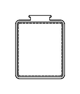 VENSTER GEO SMALL (X4)