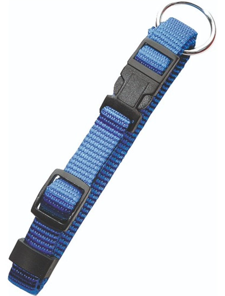 As basic halsband blauw 40cm20mm