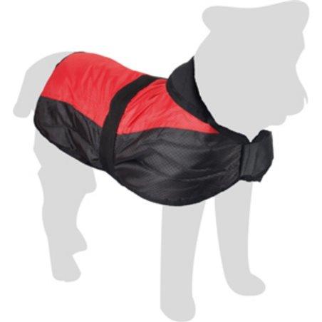 Hondenjas eisbeer ruglengte 20cm rood