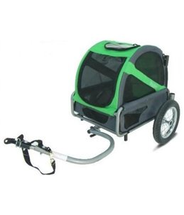 DoggyRide Mini Trailer / GREEN