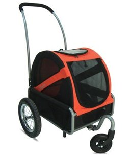 DoggyRide Mini Stroller / RED