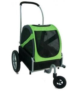 DoggyRide Mini Stroller / GREEN