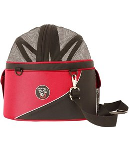 DoggyRide Cocoon carrying basket Red