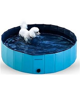 Hondenzwembad - Blauw/Licht blauw - 30 x 30 x 10cm