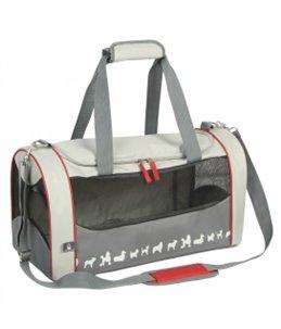 Promenade amsterdam travel bag workout Grijs 51x24,5x26cm