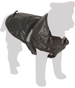 Hondenjas Outdoor Gevoerd - Zwart - 64 cm