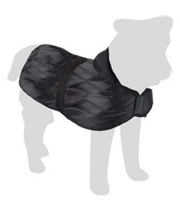 Hondenjas eisbeer 40cm zwart