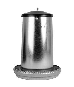 Voerhopper metaal 18 kg