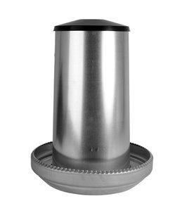 Voerhopper metaal 40 kg