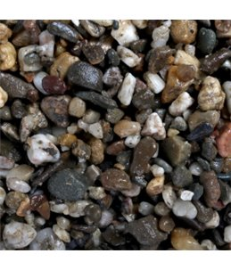 Aquariumgrind dark coarse 3-6mm - 2kg