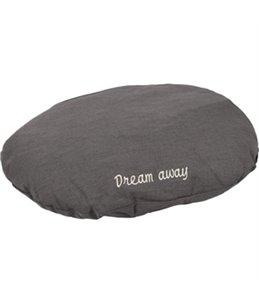 KUSSEN DREAM AWAY OVAAL GRIJS 80x62