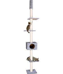 Krabpaal barwa grijs 35x35x263cm