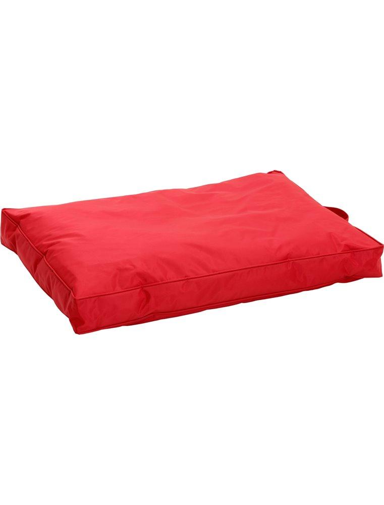 Ligkussen titan teflon«rood120cm