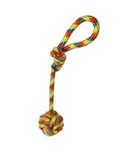 Katoen touw met bal en lus...