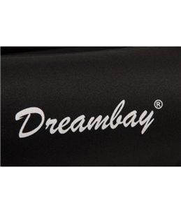 Bed dreambay zwart 80x67x22 cm