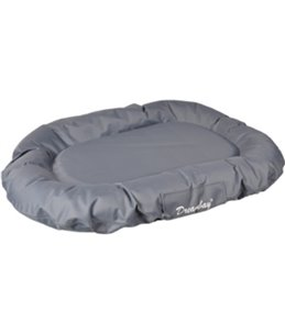Kussen dreambay ovaal grijs 100x75x 15cm