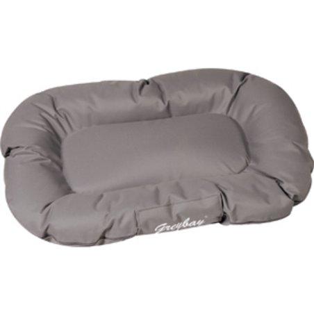 Hondenkussen dreambay ovaal grijs 120x90x 16cm
