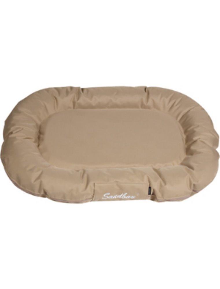 Kussen dreambay ovaal sand 100x75x 15cm