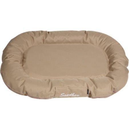 Hondenkussen dreambay ovaal sand 140x105x 17cm