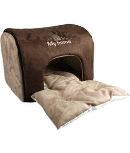Hondenhuis my home - bruin