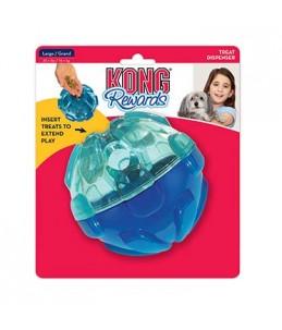 Kong rewards ball Blauw Large