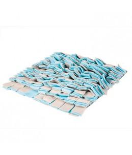 Snack mat Blauw/grijs 35x35cm
