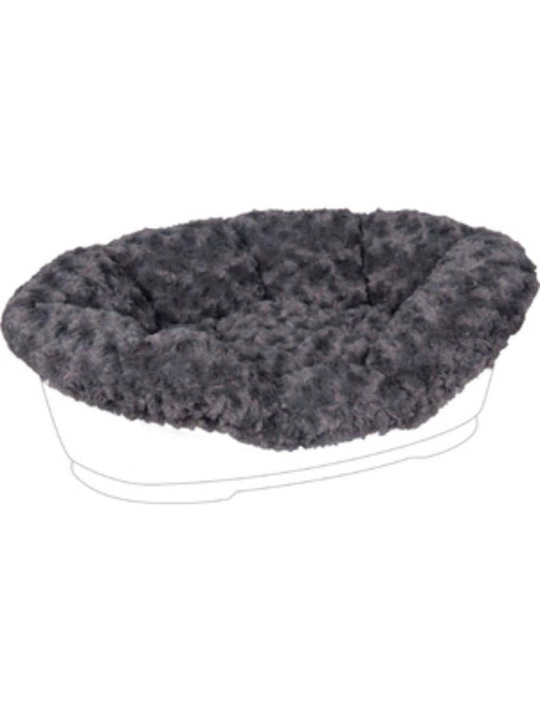 Overtrek pet bed cuddly grijs 50/60cm