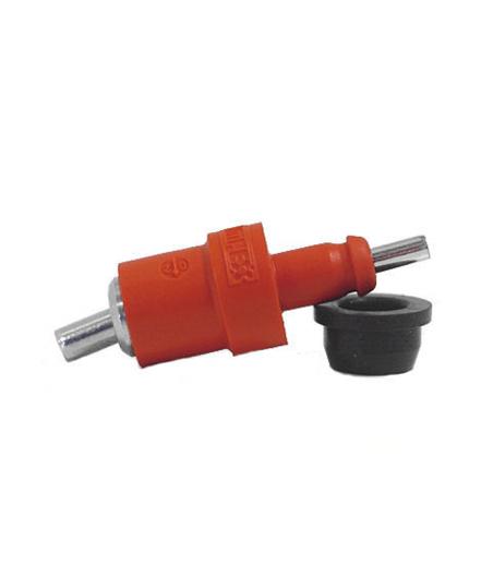 Pluimveenippel I-Flex 26-2 + rubber