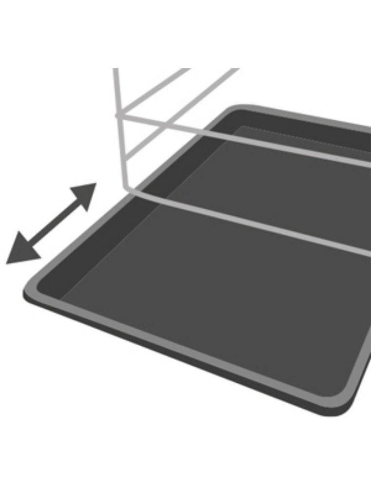 Lade plastic ebo+keo xs 45x29,5x2,7 cm