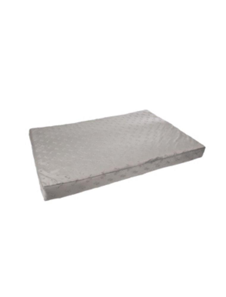 Kussen rechth. 3d bones grijs 100cm