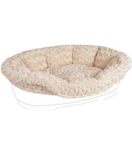 Overtrek pet bed cuddly beige 50/60cm
