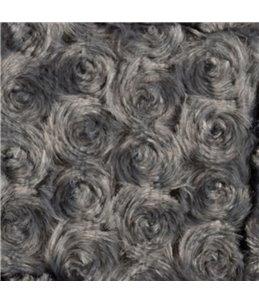Kussen cuddly rechthoekig grijs 60x45x10cm