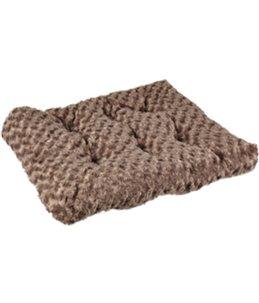 Kussen cuddly rechthoekig taupe 60x45x10cm